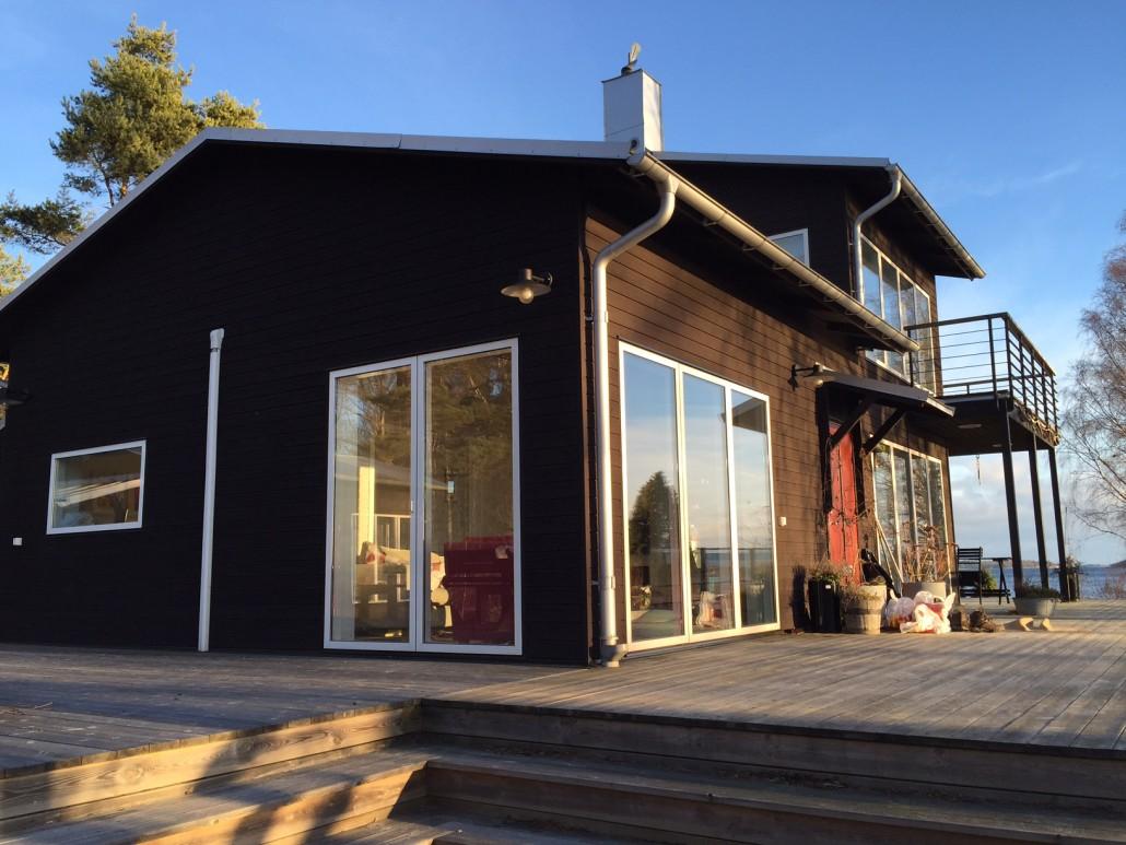 Bild på Michael Nyqvists hus